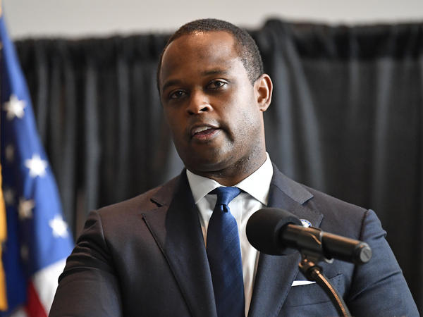 Kentucky Attorney General Daniel Cameron, pictured on Sept. 23, did not pursue charges related to the killing of Breonna Taylor. Her family lawyers say that indicates bias.