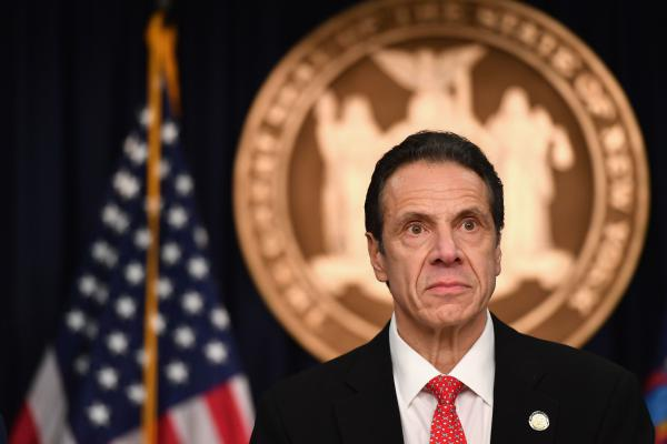 New York Gov. Andrew Cuomo speaks on March 2 during a press conference to discuss the first positive case of coronavirus in New York state.