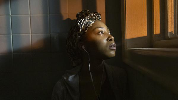 Dominique (Odley Jean) is one of several high school students in Netflix's sprawling, ambitious <em>Grand Army.</em>