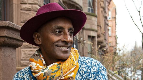 "Chef Marcus Samuelsson's new book is called <em>The Rise: Black Cooks and the Soul of American Food. </em>""Dressing has always been part of an African identity, but also a sad journey in American history,"" Samuelsson says. ""As Black men, we had to dress up. ... If we didn't look in a certain way ... police officers [could] round us up — and it still happens."""