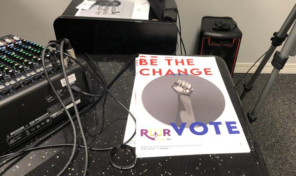 Real Women Radio, an Internet radio station created by and for African American women in Pensacola, Fla., is using these posters to help get out the vote.