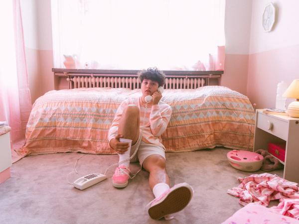 Nicolas Muñoz writes, records, performs and produces as Boy Pablo.