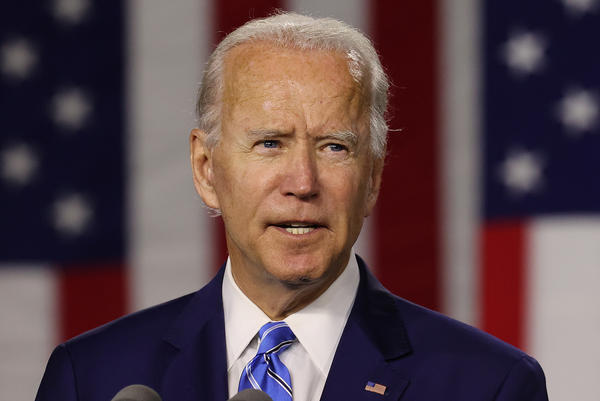 "From the moment he launched his campaign, Joe Biden focused on what he called a ""battle for the soul of our nation."""