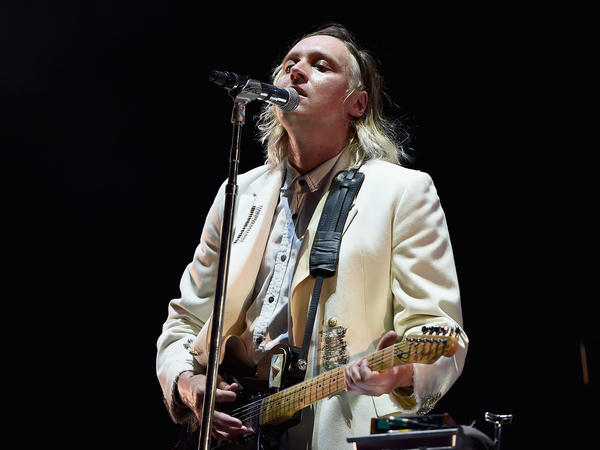 """I don't think they understand that I am not a patient man,"" Win Butler of Arcade Fire sings in ""Generation A."""