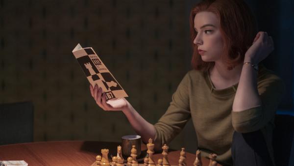 Anya Taylor-Joy plays Beth in the Netflix series <em>The Queen's Gambit</em>.