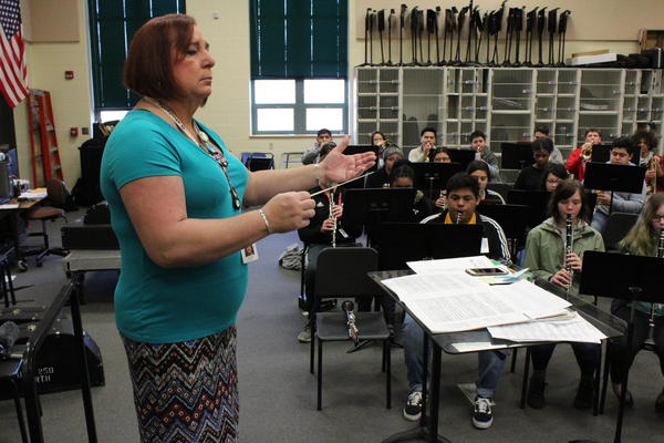 Stephanie Byers taught high school band and orchestra for 30 years before retiring. She won a seat in the Kansas House, making her the state's first transgender lawmaker.