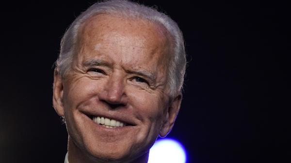 President-elect Joe Biden, along with Vice President-elect Kamala Harris, will address the nation Saturday at 8 p.m. ET.