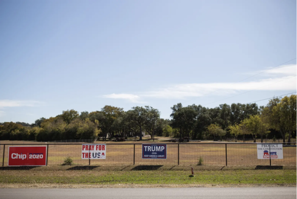 President Donald Trump won Texas by a little more than 800,000 votes in 2016. He won by around 650,000 votes in 2020.