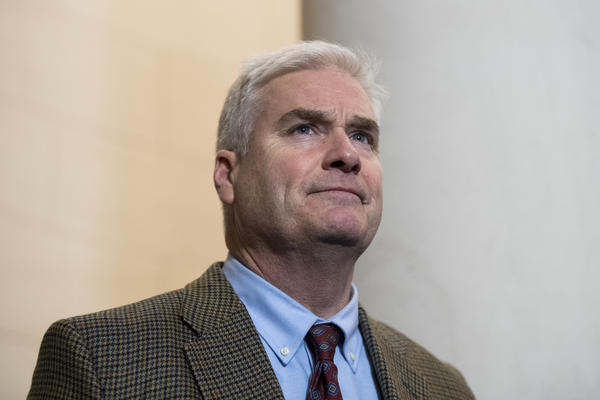 Rep. Tom Emmer of Minnesota, who also chairs the National Republican Congressional Committee, says because Democrats now hold a thin margin in the House, they have no choice but to work with Republicans.