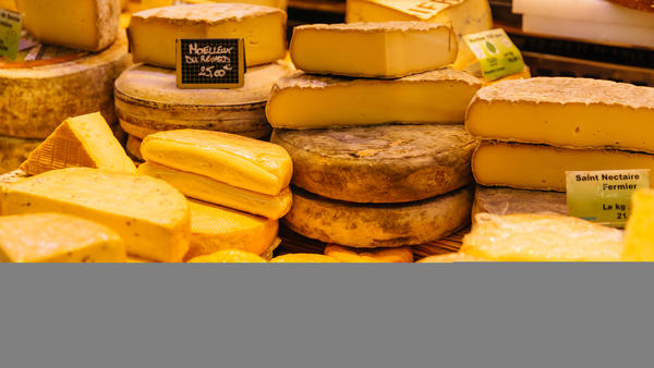 Butyric acid gives some cheeses their distinctively strong scent.