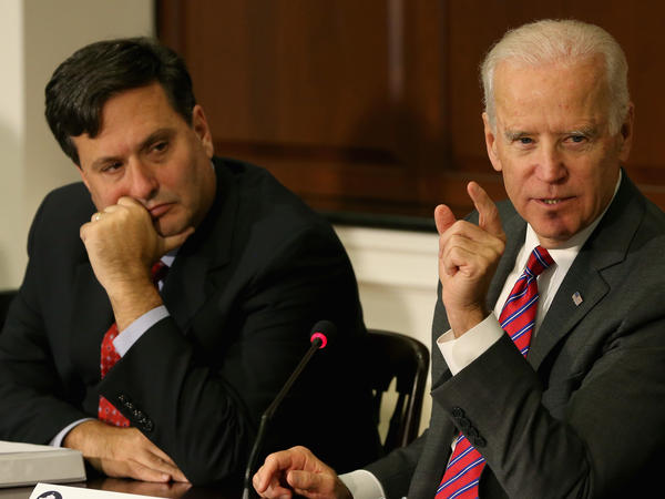 Ron Klain was also Joe Biden's chief of staff when he was vice president.