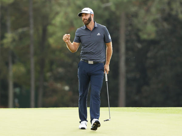 Dustin Johnson won his first Masters title on Sunday at Augusta National Golf Club.