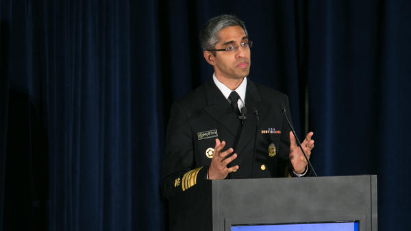 Dr. Vivek Murthy, pictured in 2016, is the co-chair of President-elect Biden's coronavirus advisory board.