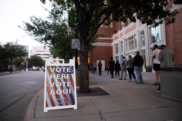 Polls in Texas closed at 7 p.m. and early voting results should be released soon.