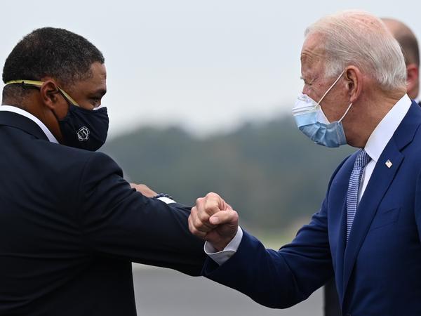 President-elect Joe Biden has tapped Louisiana Rep. Cedric Richmond (left) for a top job in his White House.