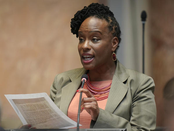 Kentucky State Rep. Attica Scott had been arrested in September during a protest of following news that no police officers would face criminal charges for the killing of Breonna Taylor.