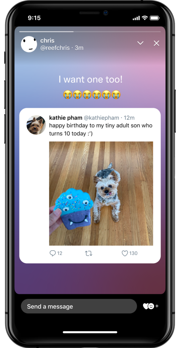 Twitter rolled out its new temporary sharing feature, fleets. Users can share photos, text or even repost tweets in posts that vanish after 24 hours.