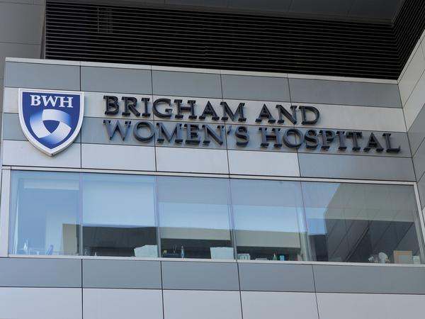 A view of Brigham and Women's Hospital in Boston, Massachusetts on March 7.