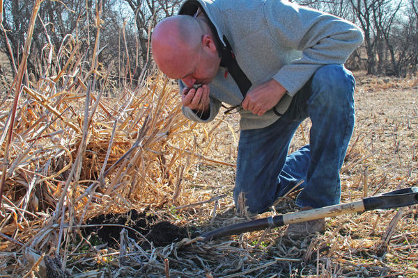 Del Ficke, a farmer in Pleasant Dale, Neb., has embraced the cause of building carbon-rich soil, capturing carbon dioxide from the air in the process.