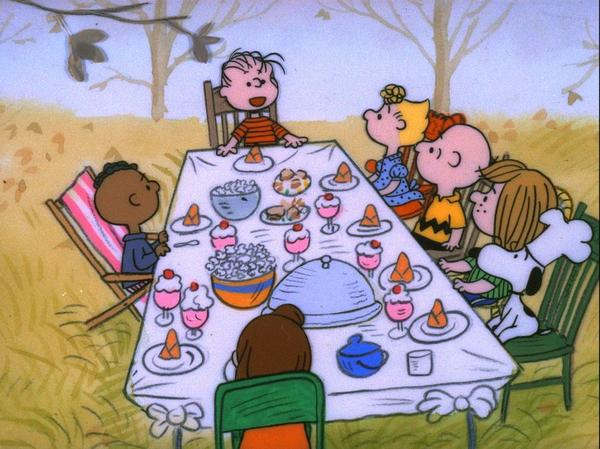 """""""A Charlie Brown Thanksgiving"""" airs on PBS 7:30 p.m. Sunday."""