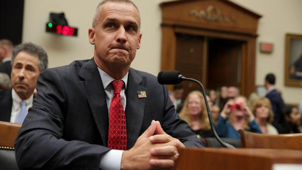 Former Trump campaign manager Corey Lewandowski testifies before the House Judiciary Committee Tuesday.