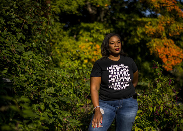 Tanisha Long founded an unofficial Black Lives Matters chapter in Pittsburgh. She is actively campaigning for Joe Biden to win Pennsylvania, a key swing state in the election.