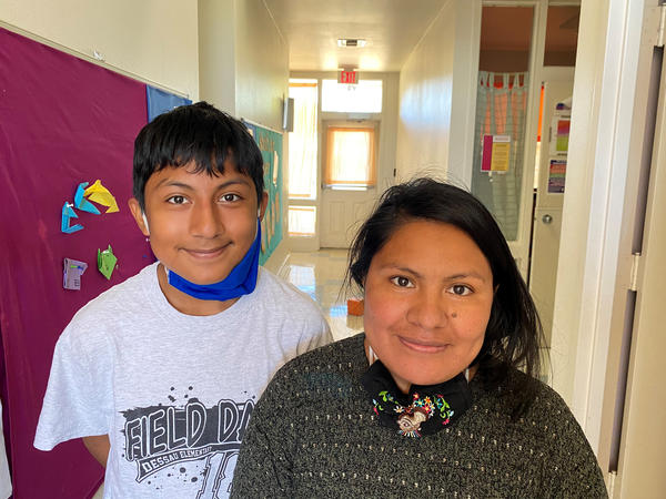 Iván and his mother, Hilda Ramirez, have taken refuge in a suburban church in Austin, Texas, for more than four and a half years. She says they fled his abusive grandfather in Guatemala five years ago, made it to the Texas border, and asked for asylum from the Obama administration. But she says their treatment under President Trump has been worse.