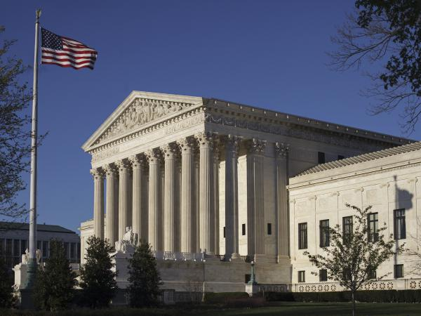 The Supreme Court is hearing arguments in a case involving the U.S. census.