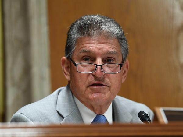 Sen. Joe Manchin, D-W.Va., helped craft the bipartisan proposal.