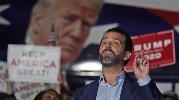 President Trump is being urged to pardon some of those closest to him preemptively, including son Donald Trump Jr.