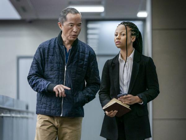 Eric (Ken Leung) and Harper (Myha'la Herrold) have a complicated dynamic on HBO's <em>Industry.</em>