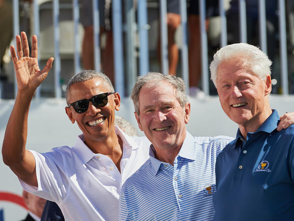 Presidents Barack Obama, George W. Bush and Bill Clinton volunteered to take the coronavirus vaccine, once it's available, on camera to assuage concerns about the shot.