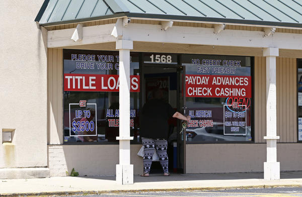 In Texas, there are more than 1,900 stores selling payday and title loans, which carry fees and interest between 200% and 500% APR. In many are structured in a way that makes them difficult to pay back.
