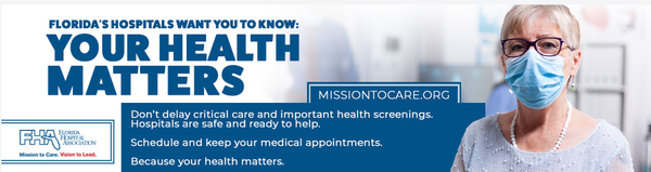 """""""Your Health Matters"""" campaign digital ad"""
