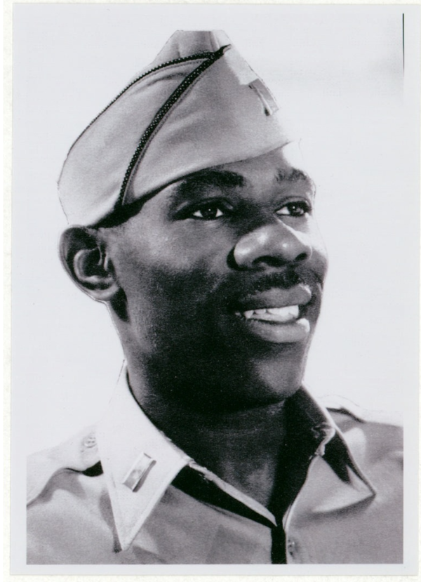 Robert P. Madison served in the 370th Regimental Combat Team, 92nd Infantry Division, the only all-Black division to see infantry combat in World War II.