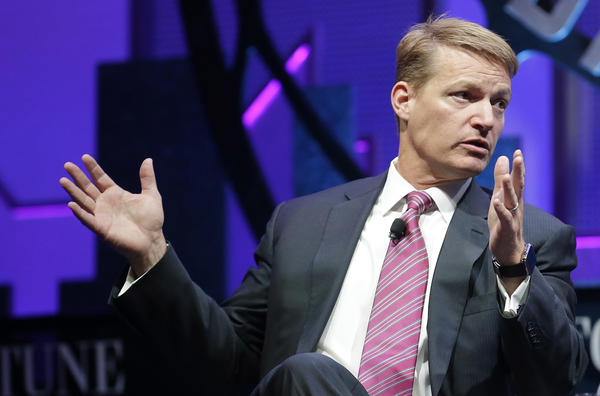 Kevin Mandia, the chief executive of FireEye, says the prominent cyber-security firm was hacked recently by an unnamed foreign country. FireEye helps protect government and private computer networks around the world. Mandia is shown here at a 2015 conference in San Francisco.