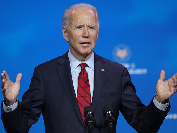 President-elect Joe Biden announces the members of his health team in Wilmington, Del.