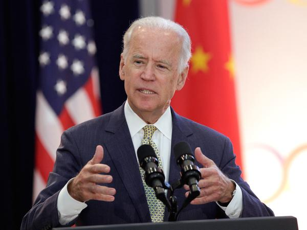Then-Vice President Joe Biden speaks during the opening session of the U.S.-China Strategic & Economic Dialogue at the State Department in June 2015.