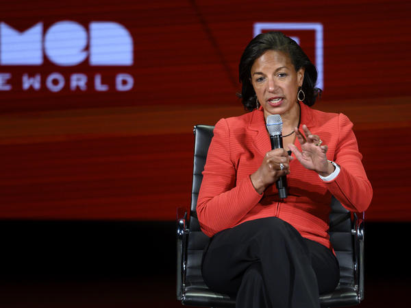 Former national security adviser Susan Rice, seen here at a 2019 Women in the World Summit in New York City, is Joe Biden's pick to lead the White House Domestic Policy Council.