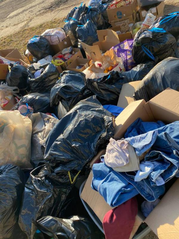 LULA Peoria recently collected excess items left at a Peoria encampment by individuals who dropped them off. In many cases, these items are going to waste.
