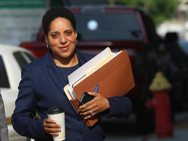St. Louis Circuit Attorney Kim Gardner is the city's first Black Circuit Court attorney. On Thursday a circuit judge disqualified her and her staff from prosecuting the case against Mark McCloskey.