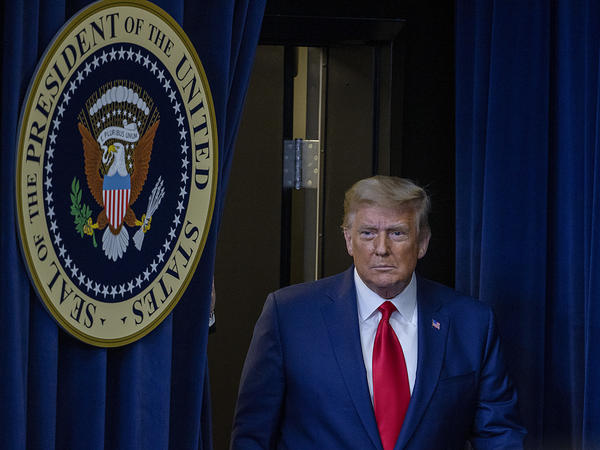 President Trump saw the effort to overturn last month's election all but snuffed out Friday night by the Supreme Court.