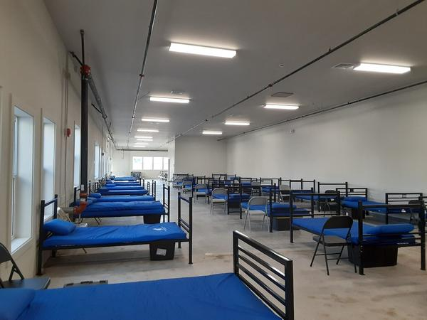 The new warming shelter in Bozeman can accommodate 60 people with physical distancing. The previous facility could shelter 43 people before the COVID-19 pandemic. photo from Dec. 04, 2020
