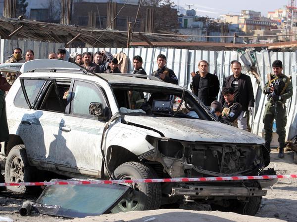 Kabul's Deputy Governor Killed In Bomb Blast | WVTF