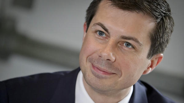 Pete Buttigieg, seen in 2019, will be nominated as Joe Biden's transportation secretary, the transition team announced. Buttigieg is a former mayor of South Bend, Ind., and Democratic presidential candidate.