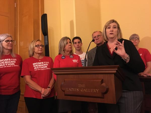 Dayton Mayor Nan Whaley and ballot issue supporters, October 2019
