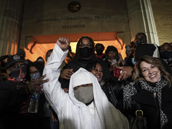 Myon Burrell was released from Minnesota Correctional Facility-Stillwater, Tuesday, following a vote by Minnesota's pardon board commuting his sentence. Burrell, who is Black, was sent to prison for life as a teen in a high-profile murder case that raised questions about the integrity of the criminal justice system that put him away.