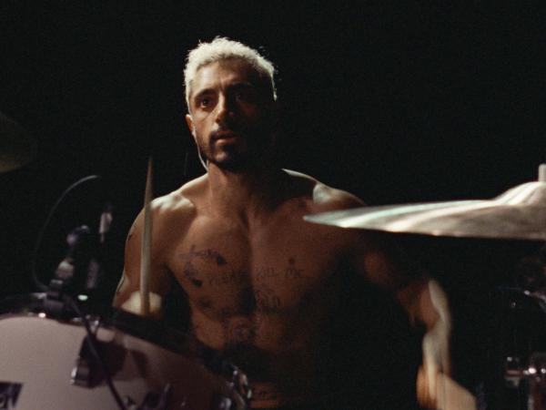 Riz Ahmed plays plays a drummer who goes deaf in <em>Sound of Metal.</em>