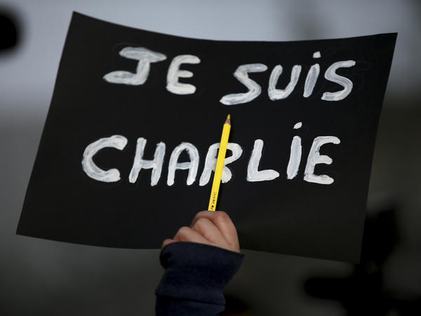"In the wake of the 2015 attack in Paris, ""<em>Je Suis</em> Charlie"" became a rallying cry for demonstrators grieving the victims at the controversial French publication <em>Charlie Hebdo</em>. On Wednesday, a French court found 14 individuals guilty of supporting the massacre."