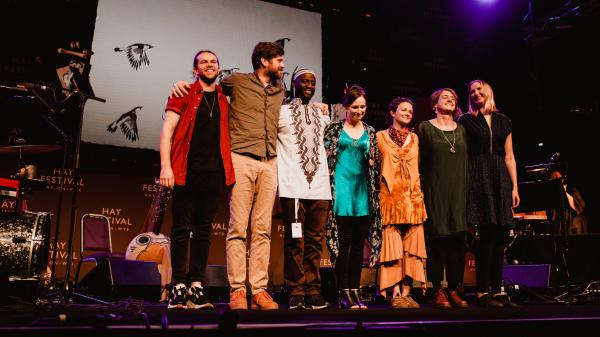 The Spell Songs Ensemble is featured on this week's episode.